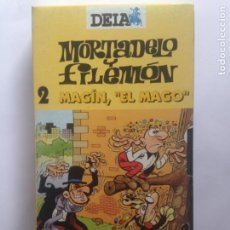 Cine: MORTADELO Y FILEMON 2 MAGIN EL MAGO - DEIA - VHS. Lote 206951462