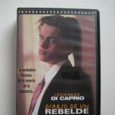 Cine: VHS DIARIO DE UN REBELDE. Lote 207045356