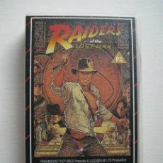 Cine: VHS RAIDERS OF THE LOST ARK - V.O.- INDIANA JONES, EN BUSCA DEL ARCA PERDIDA. Lote 207045431