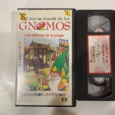 Cine: GNOMOS LOS SEÑORES DE LA JUNGLA CAPÍTULO 1 CINTA VHS. Lote 207141758