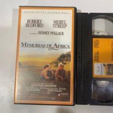 Cine: MEMORIAS DE ÁFRICA PELÍCULA GRABADA DE LA TELEVISIÓN. Lote 207141796