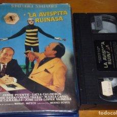 Cine: LA AVISPITA RUINASA - JOSE LUIS LOPEZ VAZQUEZ, JESUS PUENTE, PEPE CARABIAS - VHS. Lote 207237195