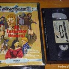 Cine: EL INSPECTOR GENERAL - ELSA LANCHESTER, DANNY KAYE, HENRY KOSTER - VHS. Lote 207237348