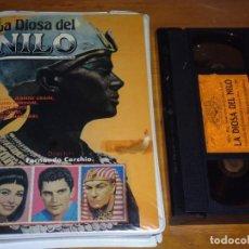Cine: LA DIOSA DEL NILO - VINCENT PRICE, EDMUND PURDOM, JEANNE CRAIN - VHS. Lote 207237415