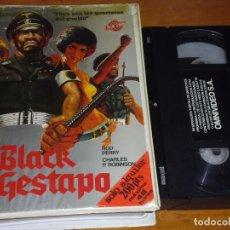 Cine: BLACK GESTAPO - LEE FROST, ROD PERRY - VHS. Lote 207237536