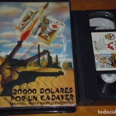 Cine: 20000 DOLARES POR UN CADAVER - MICHAEL RIVES, DIANIK ZURAKOMSKA - VHS. Lote 207237636