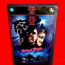 Cine: PRIMAL RAGE (1988) - RABIA SALVAJE. FURIA PRIMITIVA. Lote 207256067