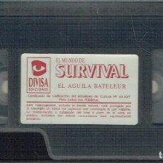 Cine: EL MUNDO DE SURVIVAL. EL ÁGUILA BATELEUR. Lote 207302103