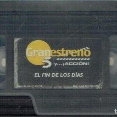 Cine: EL FIN DE LOS DÍAS. Lote 207302261