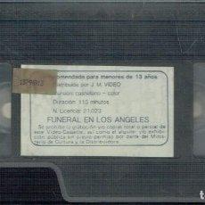 Cine: FUNERAL EN LOS ÁNGELES. Lote 207302478