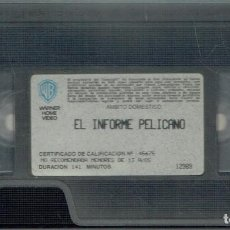 Cine: EL INFORME PELÍCANO. Lote 207302980