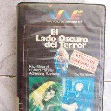 Cine: EL LADO OSCURO DEL TERROR VHS. Lote 207304240