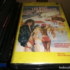 Cine: LAS SIETE 7 MAGNIFICAS VHS ORIGINAL. Lote 207341223