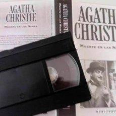 Cine: PELICULA MUERTE EN LAS NUBES DE AGATHA CHRISTIE. Lote 207380287