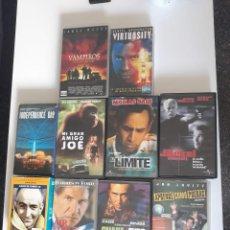 Cine: LOTE DE 11 PELICULAS VHS - PROCEDENTES DE VIDEOCLUB.. Lote 242281930