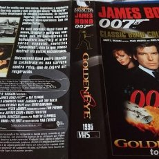 Cine: CARÁTULA VIDEO GOLDENEYE J.BOND 007. Lote 207697183