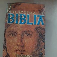 Cine: 3 VHS EXCAVANDO LA BIBLIA FASCINANTES REVELACIONES ARQUEOLÓGICAS, DIVISA EDICIONES. Lote 208420892