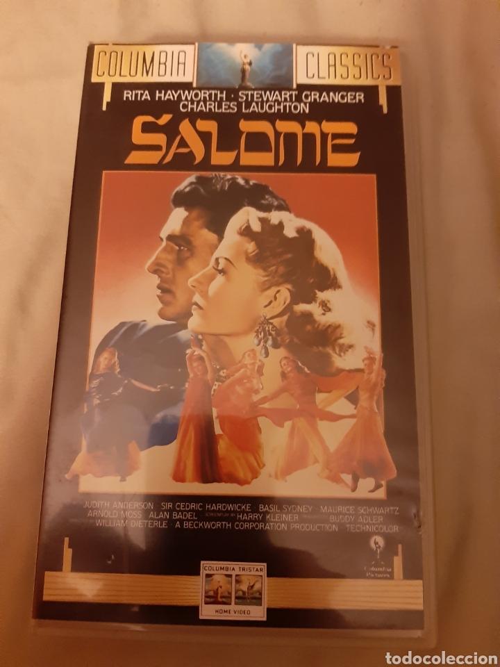 VHS SALOME (1.953) (Cine - Películas - VHS)