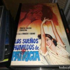 Cine: LOS SUEÑOS HUMEDOS DE PATRICIA VHS ORIGINAL IQUINO UNICA EN TC. Lote 208691583