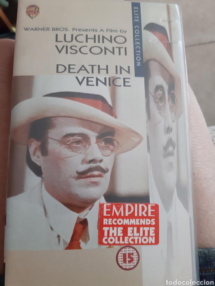 MUERTE EN VENECIA (Cine - Películas - VHS)
