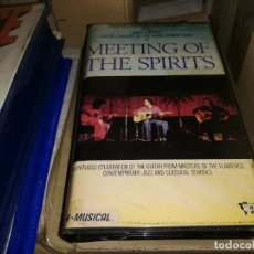 Cine: MEETING THE SPIRITS VHS ORIGINAL PACO DE LUCIA. Lote 208911305