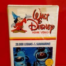 Cine: 20000 LEGUAS DE VIAJE SUBMARINO (1954) - KIRK DOUGLAS, RICHARD BURTON - 1ª EDICIÓN DISNEY. Lote 208945448