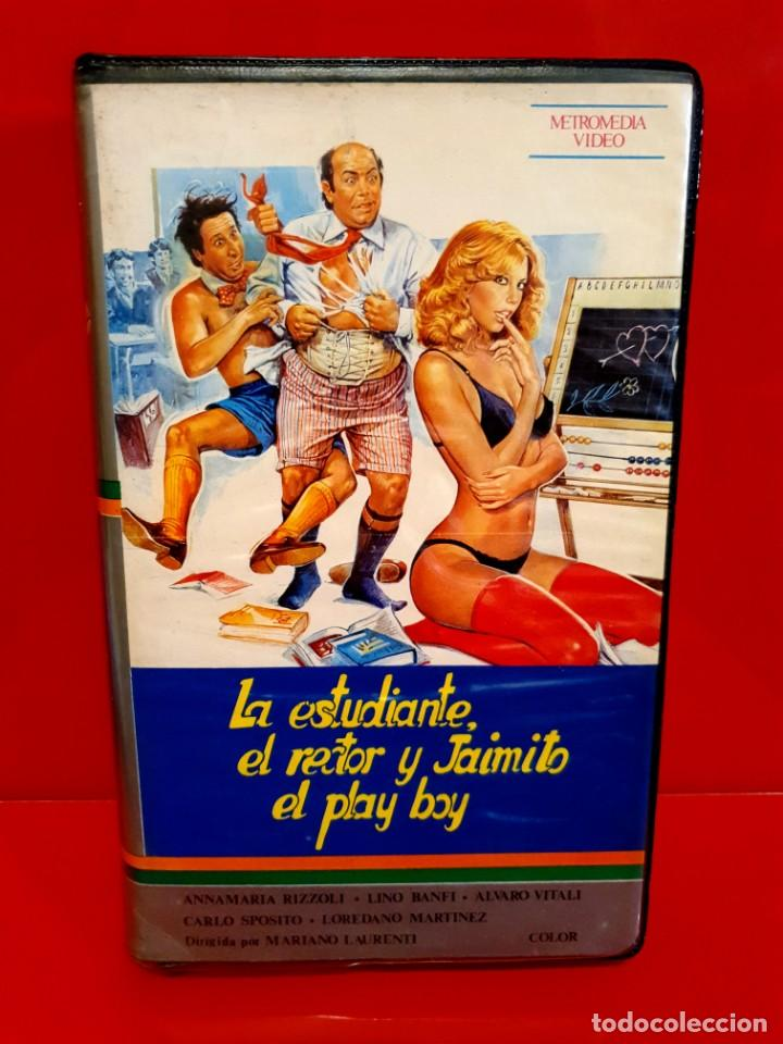 LA ESTUDIANTE EL RECTOR Y JAIMITO EL PLAY BOY (1980) (Cine - Películas - VHS)