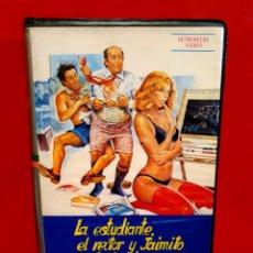 Cine: LA ESTUDIANTE EL RECTOR Y JAIMITO EL PLAY BOY (1980). Lote 208983792