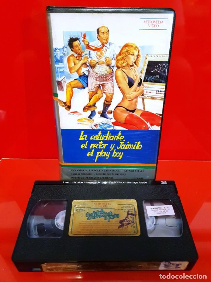 Cine: LA ESTUDIANTE EL RECTOR Y JAIMITO EL PLAY BOY (1980) - Foto 3 - 208983792