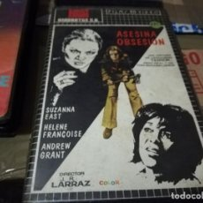 Cine: ASESINA OBSESION VHS ORIGINAL JOSE RAMON LARRAZ. Lote 208997136