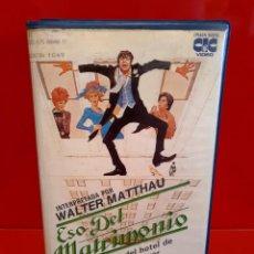 Cine: ESO DEL MATRIMONIO (1971) - PLAZA SUITE - WALTER MATTHAU, MAUREEN STAPLETON - MUY ESCASA. Lote 209039037