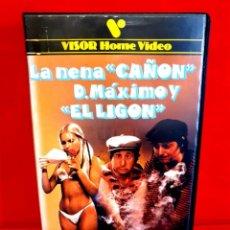 Cine: LA NENA CAÑON Y DON MÁXIMO EL LIGON (1980). Lote 209392356