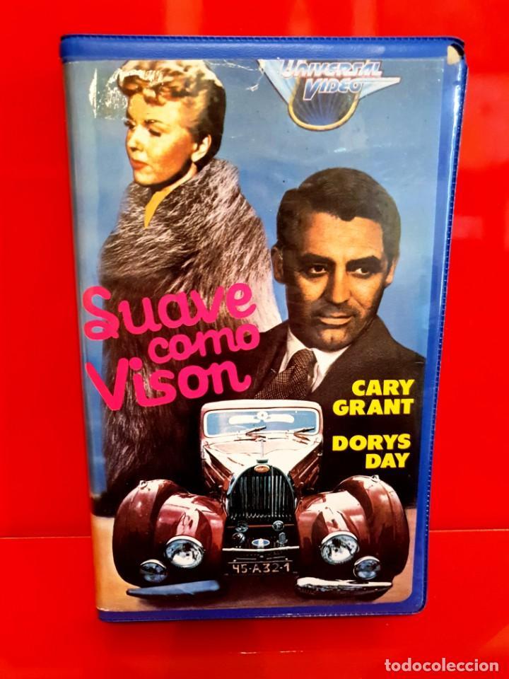 SUAVE COMO VISON (1962) - DORIS DAY, CARY GRANT, GIG YOUNG, AUDREY MEADOWS - 1ª EDIC INEDITA EN TC (Cine - Películas - VHS)