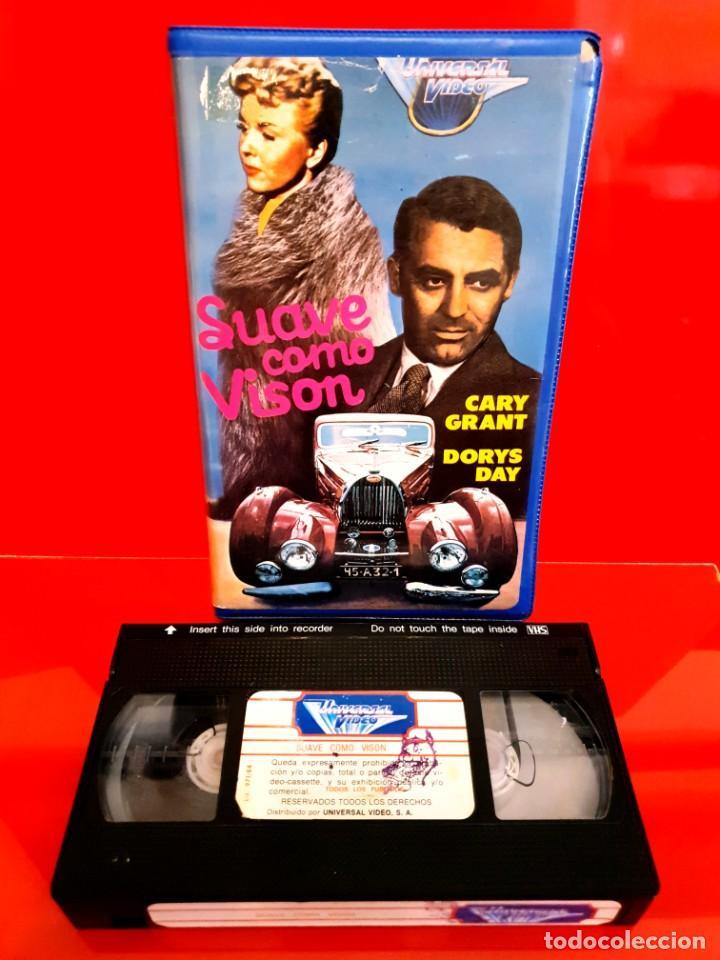 Cine: SUAVE COMO VISON (1962) - Doris Day, Cary Grant, Gig Young, Audrey Meadows - 1ª EDIC INEDITA EN TC - Foto 3 - 209724240