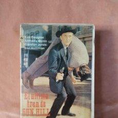Cine: EL ULTIMO TREN DE GUN HILL. KIRK DOUGLAS. ANTHONY QUINN. VHS. Lote 209791500