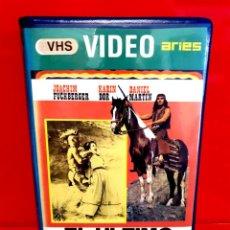 Cine: EL ULTIMO MOHICANO (1965) - JOACHIM FUCHSBERGER, KARIN DOR, DANIEL MARTÍN - VIDEO ARIES. Lote 209968858