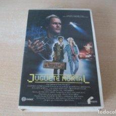 Cine: JUGUETE MORTAL VHS. Lote 210199320