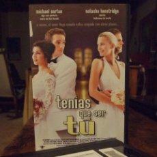 Cine: TENIAS QUE SER TU - STEVEN FEDER - MICHAEL VARTAN , NATASHA HENSTRIDGE - BIG TIME 2000. Lote 210307761
