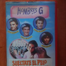 Cine: PELÍCULA VHS SUÉLTATE EL PELO, HOMBRES G. Lote 210339757