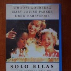 Cine: PELÍCULA VHS SOLO ELLAS... LOS CHICOS A UN LADO. Lote 210339877