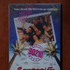 Cine: PELÍCULA VHS SENSACIÓN DE VIVIR ¡CÓMO EMPEZÓ TODO! BEBERLY HILLS 90210. Lote 210340337