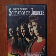 Cine: PELÍCULA VHS OPERACIÓN SOLDADOS DE JUGUETE. Lote 210340363