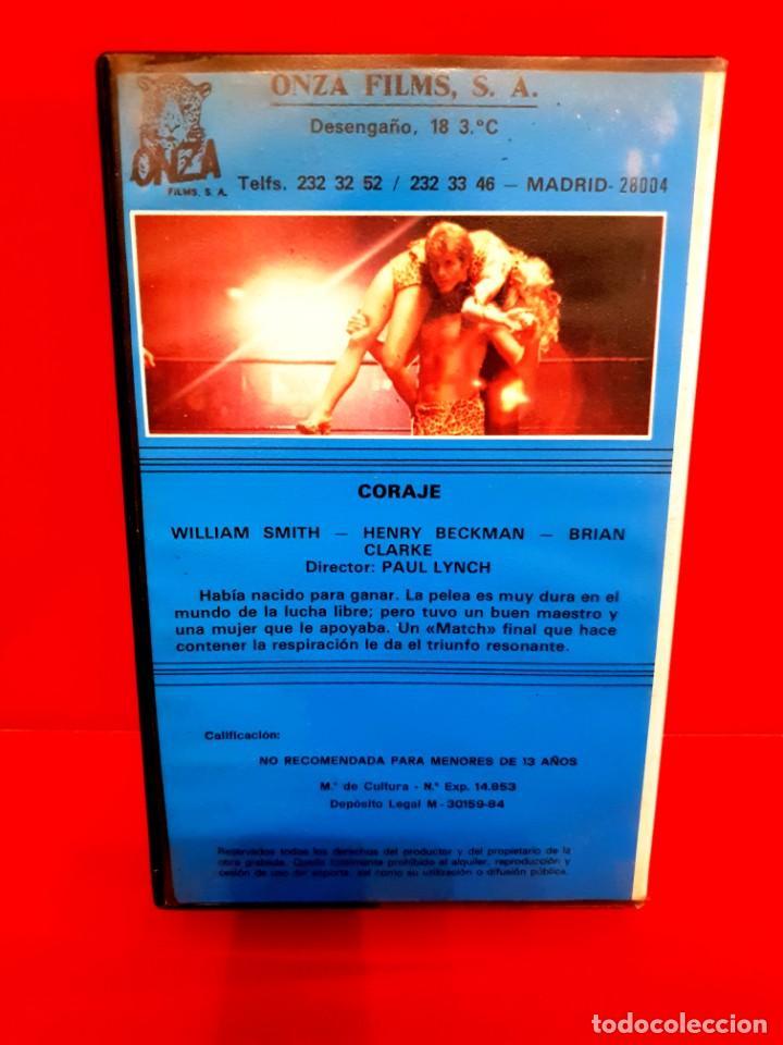 Cine: CORAJE (1978) - PAUL LYNCH - MICHELINE LANCTOT [ONZA FILMS - RAREZA LUCHA LIBRE] - Foto 2 - 210356335