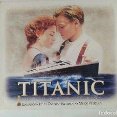 Cine: TITANIC EDICIÓN ESPECIAL CON DIVERSAS POSTALES Y EXCLUSIVO FOTOGRAMA EN 35 MM DE LA PELICULA. Lote 210400627