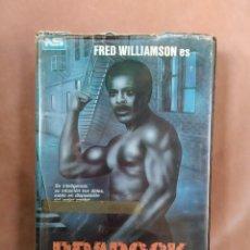 Cine: BRADOCK (EX-POLICIA) - FRED WILLIAMSON - VHS - CAJA GRANDE. Lote 210409905