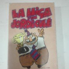 Cine: VHS FC BARCELONA LA LLIGA D'EN JORDI CULE 1991 BARÇA DE CRUYFF FUTBOL. Lote 210429245