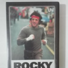 Cine: VHS PELICULA ROCKY I 1 SYLVESTER STALLONE LOS OSCARS DE HOLLYWOOD Nº 9 1976 - 1984. Lote 210429702