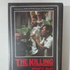 Cine: VHS PELICULA THE KILLING FIELDS LOS GRITOS DEL SILENCIO LOS OSCARS DE HOLLYWOOD Nº 10 1984 - 1989. Lote 210429751