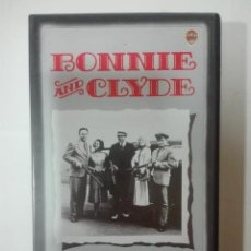 Cine: VHS PELICULA BONNIE AND CLYDE WARREN BEATTY FAVE DUNAWAY OSCARS DE HOLLYWOOD Nº 13 1967 - 1990. Lote 210429815