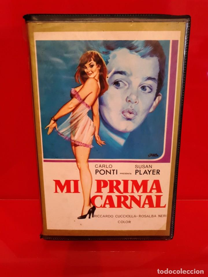 MI PRIMA CARNAL (1974) - CUGINI CARNALI, SUSAN PLAYER, RICCARDO CUCCIOLLA, ALFREDO PEA (Cine - Películas - VHS)